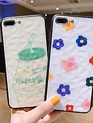 cheap -Case For Apple iPhone XS / iPhone XR / iPhone XS Max Dustproof / Pattern Back Cover Food / Cartoon / Flower PC