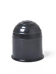 cheap -Universal 50MM Car Auto Black Tow Bar Ball Cover Cap Hitch Caravan Trailer Towing Bars Towball