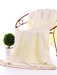 cheap -Superior Quality Bath Towel, Reactive Print / Floral / Botanical / Solid Colored 100% Cotton Living Room / Bedroom / Bathroom 1 pcs