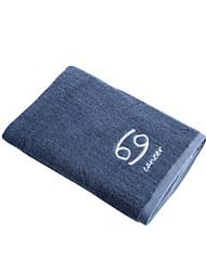 cheap -Superior Quality Bath Towel, Geometic Cotton / Linen Blend Bathroom 1 pcs