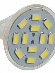 cheap -3 W LED Spotlight 250 lm GU4 MR11 12 LED Beads SMD 5730 Warm White Cold White 12 V / 10 pcs