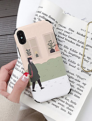cheap -Case For Apple iPhone XR / iPhone XS / iPhone XS Max Ultra-thin / Pattern Back Cover Cartoon / Animal TPU