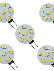 cheap -5pcs 1.5 W LED Bi-pin Lights 200 lm G4 6 LED Beads SMD 5730 9-30 V