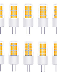 cheap -YWXLIGHT® 10pcs 3 W LED Bi-pin Lights 270 lm G4 T 20 LED Beads SMD 2835 Warm White Cold White Natural White 12 V