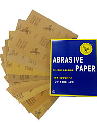 cheap -23x28cm Waterproof Abrasive Paper for Automotive Furniture Polishing Grinding 120 to 2000 Grit Sandpaper Assortment Models2000#