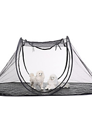 cheap -Pet Tent Outdoor Lightweight Windproof Rain Waterproof Poled Camping Tent 2000-3000 mm for Oxford Cloth 190*90*78 cm