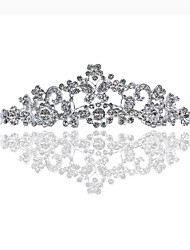 cheap -Crystal / Alloy Tiaras with Crystal / Crystals 1 Piece Birthday Headpiece