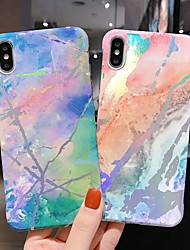 cheap -Case For Apple iPhone XS / iPhone XR / iPhone XS Max/7/8/7 Plus/8 Plus/6/6S/6S Plus/6 Plus Pattern Back Cover Marble Acrylic
