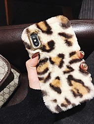 cheap -Case For Apple iPhone XS / iPhone XR / iPhone XS Max Pattern Back Cover Solid Colored Plastic / Silica Gel