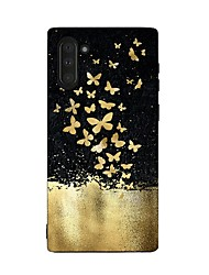 cheap -Case For Samsung Galaxy Galaxy Note 10 / Galaxy Note 10 Plus Shockproof Back Cover Butterfly TPU