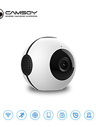 cheap -Mini Spherical HD Camera Night Vision Nanny Camera for Home/Office Security