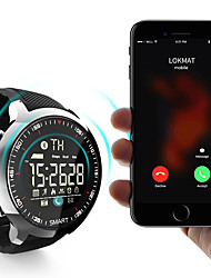 cheap -lokmat MK18 Men Women Smartwatch Android iOS Bluetooth Waterproof Sports Smart Information Timer Stopwatch Pedometer Call Reminder Activity Tracker