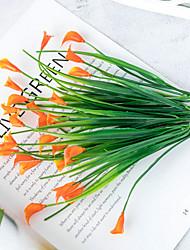 cheap -Artificial Flower Polyester Rustic Irregular Tabletop Flower Irregular 1