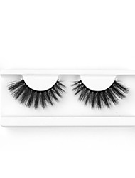 cheap -Neitsi One Pair 6D Synthetic False Eyelashes Black Women Girls Makeup Party Eyelashes Extensions W-4