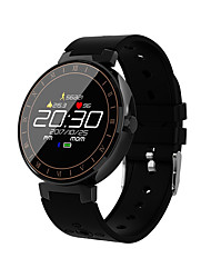 cheap -Smartwatch Digital Modern Style Sporty Silicone Nylon 30 m Water Resistant / Waterproof Heart Rate Monitor Bluetooth Digital Casual Outdoor - Black Green Red