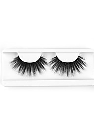 cheap -Neitsi One Pair 6D Synthetic False Eyelashes Black Women Girls Makeup Party Eyelashes Extensions DH058