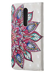 cheap -Case For Xiaomi Redmi Note 7 / Redmi 7A Wallet / Card Holder / with Stand Full Body Cases Half Flower PU Leather for Redmi K20 / K20 Pro / Note7 Pro / Note6 / Note6 Pro / CC9 / CC9e