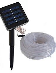 Недорогие -10 м Гирлянды 100 светодиоды Тёплый белый Работает от солнечной энергии / Декоративная Солнечная энергия 1 комплект
