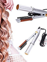 cheap -Straight roll dual-use hairdressing tools electric curling iron home straightening splint