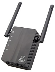 cheap -2.4G 300M Wireless Router Wi-Fi Repeater Dual AntennaExtender Signal Amplifer