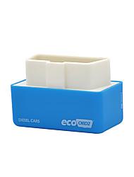 abordables -outzone eco dispositif économiseur de carburant nitro obd2 fiche et lecteur boîte de réglage de puce pour le benzine bleu - 15% économie de carburant 2 pc