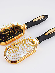 "cheap -Brush & Comb Stainless Steel + Plastic Plating Others Gold-Plated Massage 11"" (28 cm) 1 Piece"