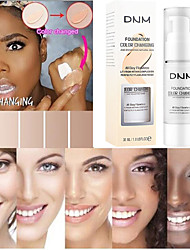 cheap -30ml Color Changing Liquid Foundation Makeup Change To Your Skin Tone By Just Blending