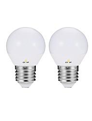 Недорогие -EXUP® 2pcs 4 W Круглые LED лампы LED лампы в форме свечи LED лампы накаливания 360 lm E14 E26 / E27 P45 10 Светодиодные бусины SMD 2835 Очаровательный Для вечеринок Декоративная