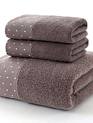 cheap -Superior Quality Bath Towel Set, Solid Colored / Reactive Print 100% Cotton 1 pcs