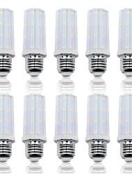 Недорогие -Loende 10 упак. 6 Вт светодиодные кукурузные фонари smd2835 e27 37 светодиодов 85-265 В светодиодные лампы Whtie теплый белый