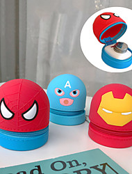 cheap -Hand-held Coin Purse Portable Headphone Bag Storage Bag Cute Cartoon Silicone 1 Item