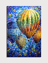 cheap -Oil Painting Hand Painted - Landscape Still Life Modern Rolled Canvas