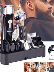 cheap -5 In 1 Multifunctional Electric Hair Clipper Beard Trimmer Rechargeable Epilator Waterproof Nose Hair Device