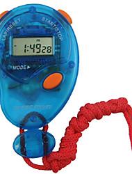 Недорогие -Муж. Жен. Спортивные часы Хронометр Цифровой Красный Нет Секундомер Светящийся Новый дизайн Цифровой На открытом воздухе Новое поступление - Светло-синий Синий Один год Срок службы батареи