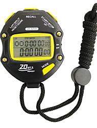 cheap -Men's Women's Sport Watch Stopwatch Japanese Digital Black Chronograph Luminous New Design Digital Outdoor New Arrival - Black Two Years Battery Life