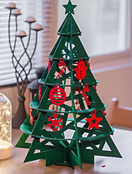cheap -Christmas Lights Christmas Tree Fabric Christmas tree Novelty Christmas Decoration