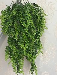 abordables -Fleurs artificielles 1 Une succursale Classique Moderne Plantes Guirlande et Fleur Murale