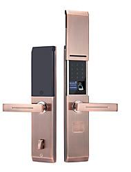 cheap -Factory OEM RX0832 Aluminium alloy Fingerprint Lock / Intelligent Lock / Card Lock Smart Home Security System Fingerprint unlocking / Password unlocking / APP unlocking Household / Bedroom / Office