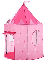 cheap -Play Tent & Tunnel Playhouse Tent Fairytale Theme Castle Princess Foldable Convenient Sports & Outdoors Polyester Polyester Microfiber Indoor Outdoor Spring Summer Fall 3 years+ Pop Up Indoor/Outdoor