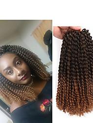 """cheap -Braiding Hair Curly Twist Braids Afro Kinky Braids Curly Braids Synthetic Hair 1pack Hair Braids Natural Color 12"""" Synthetic Crochet Braids Ombre Hair Birthday African Braids"""