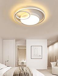 cheap -LED® 3-Light 50 cm Flush Mount Lights Metal Linear / Geometrical Painted Finishes LED / Modern 110-120V / 220-240V