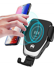 cheap -Car Wireless Charger Gravity Linkage Design Fast Charge Mobile Holder with Cable