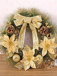 Недорогие -Искусственные цветы Волокно Современный современный Цилиндр Цветы на стену Цилиндр 1