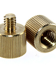 cheap -CAMVATE 2 Pack 3/8 -16 Female to 1/4-20 Male Tripod Thread Reducer Adapter for Tripod C1233