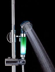 cheap -3-Color Temperature Sensitive LED Color Changing Hand Shower