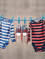 cheap -Plastic Multi-function / Non-Slip Socks / Clothing Hanger, 1pc