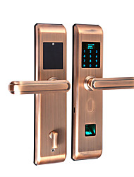 cheap -Factory OEM FL23 Stainless Steel Fingerprint Lock / Intelligent Lock / Password lock Smart Home Security iOS / Android System Fingerprint unlocking / Password unlocking / APP unlocking Home / Office