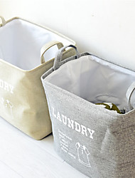 cheap -Laundry Basket / Storage Box / Storage Bag Oxford Cloth Ordinary Accessory 1 Storage Bag Household Storage Bags