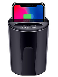 cheap -Fast Wireless Car Charger Cup for Samsung S9 S8 Note10 9 Qi Wireless Charging Car Cup for iPhone XsMax/Xr/8plus 10W Universal