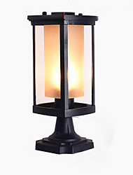 cheap -Column Lamp Outdoor Waterproof Pillar Lamp Black Commercial Deco Lighting Chapiter Lamps for Park Patio Aluminum